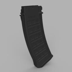 магазин.PNG Télécharger fichier STL WE tech ak 74 magazine shell, ak19 (5.56) inspired • Plan imprimable en 3D, Igniz