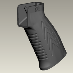 Download free 3D printer designs AEG airsoft ar15 pistol (motor) grip #1, Igniz
