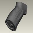 Download free 3D printer designs AEG airsoft ar15 pistol (motor) grip #1, Igniz