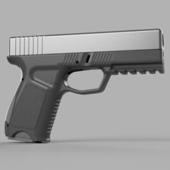 Descargar modelo 3D Bastidor para kjw airsoft glock 19/23, Igniz