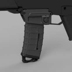 G36 v12.png Download STL file Airsoft G36 stanag adaptor • 3D print design, Igniz