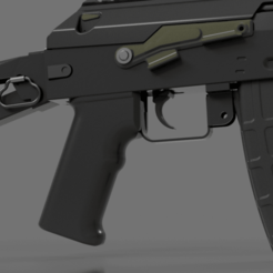 Download free 3D printer model Airsoft AK (weiger stg940) pistol grip., Igniz