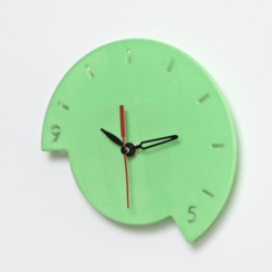 Download free 3D print files NINE2FIVE WALL CLOCK, Glamarune