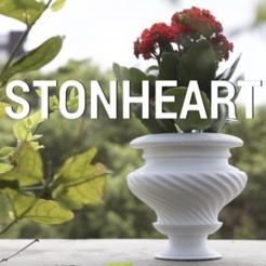 Download free 3D printer designs STONHEART VASE, Glamarune