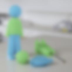 Descargar archivos 3D gratis UNA PLUMA, Glamarune