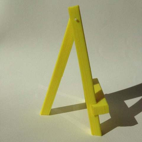 IMG_6531_display_large.JPG Download free STL file Easel stand • 3D print model, Palasestia