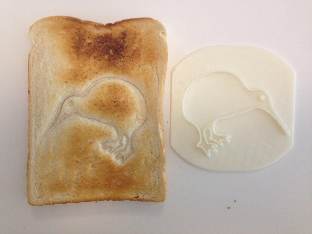 IMG_6852_display_large.JPG Download free STL file Kiwi Toast! • 3D printing template, Palasestia
