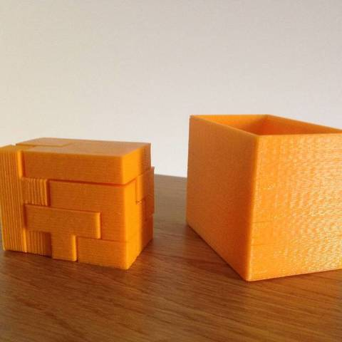 lFKuY70_display_large.jpg Download free STL file Challenging Box Puzzle • 3D printing design, Palasestia