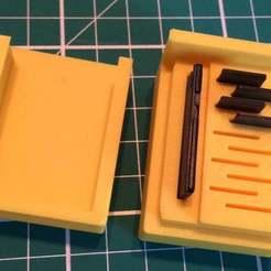 Descargar archivo STL gratis Soporte para tarjeta SD Mirco • Objeto para impresión 3D, Palasestia
