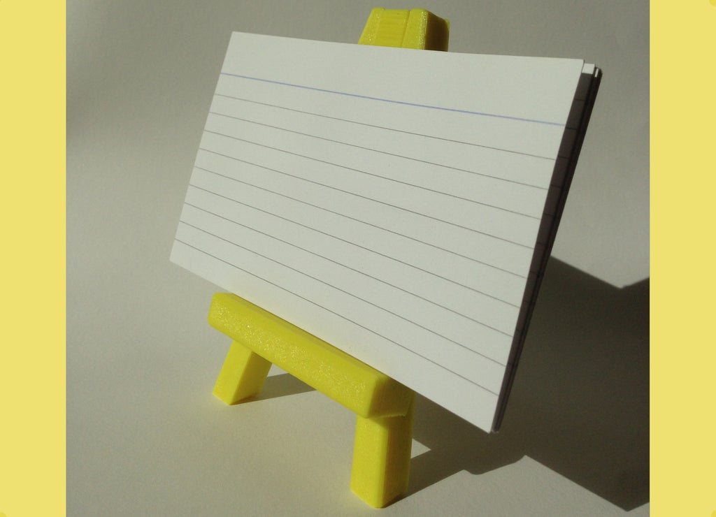 IMG_6534_display_large.JPG Download free STL file Easel stand • 3D print model, Palasestia