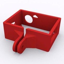 Télécharger plan imprimante 3D gatuit Étui pour GoPro Hero 3, Palasestia