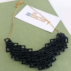Descargar archivo STL gratis Collares de cadena • Plan imprimible en 3D, Palasestia