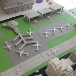 Descargar archivo STL gratis 3dfactory aeropuerto • Diseño para la impresora 3D, Palasestia