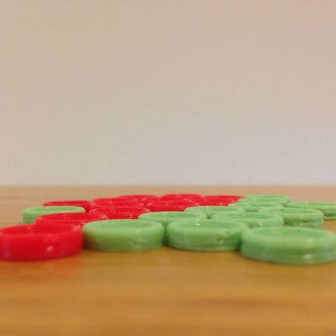 oatTikn_display_large.jpg Download free STL file Corners - A Strategic Board Game • 3D printing model, Palasestia