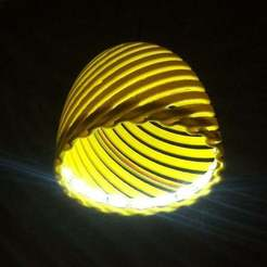 Descargar archivo STL gratis La lámpara Classic Lampshade II • Modelo para la impresora 3D, Palasestia