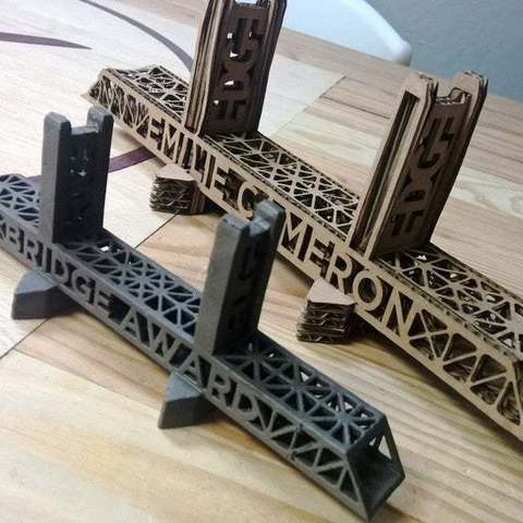 Download free 3D printer templates Tower Bridge Award, Palasestia
