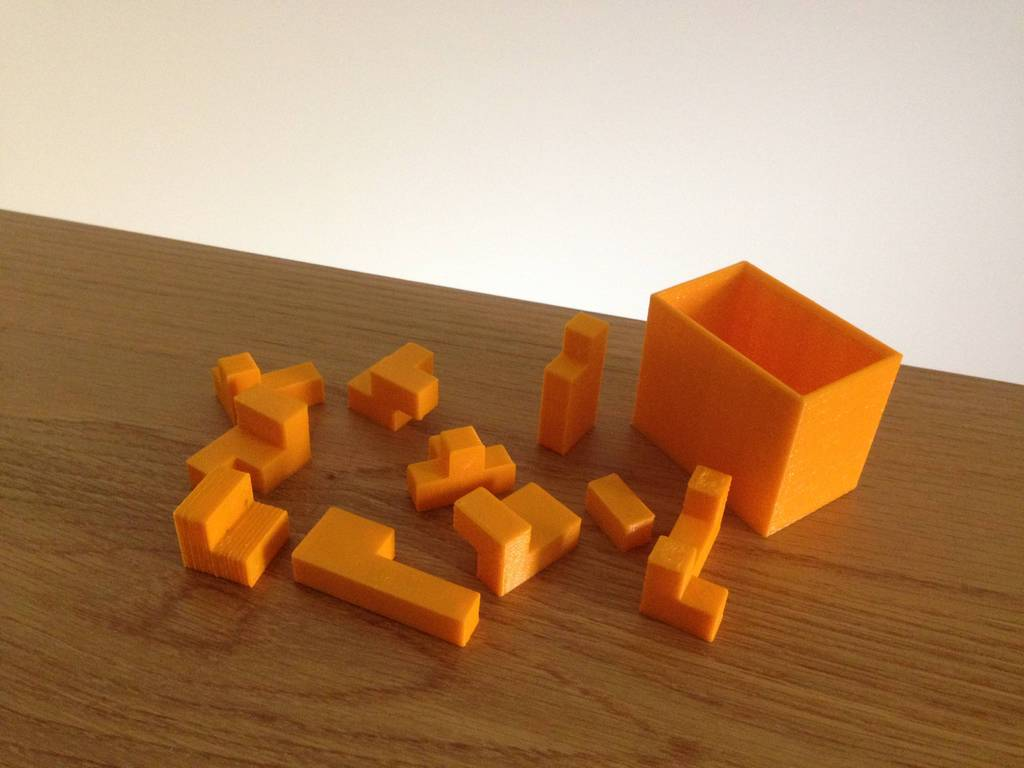 MbaTe81_display_large.jpg Download free STL file Challenging Box Puzzle • 3D printing design, Palasestia