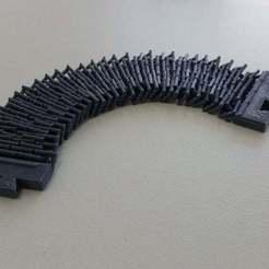 Descargar archivo STL gratis Pulsera de cadena • Modelo para la impresora 3D, Palasestia