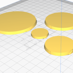 Download free 3D printing designs Infinity bases with directional markers, ballistic-disbelief