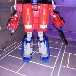 Impresiones 3D Jet Pack Siege Optimus Prime, Hernan2008