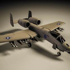 3D print model A10 Thunderbolt , RedShadow15
