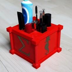 IMG_2090a.jpg Download STL file Organiser bathroom V2(organiser bathroom V2) • Design to 3D print, mickaelchabert