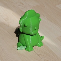 Download 3D printer designs Dinosaur piggy bank, mickaelchabert