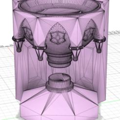 Download 3D printing models pensine harry potter, vandmix