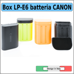 LP-E6 prima pagina copia.png Download STL file LP-E6 battery Canon  box housing enclosure protection • 3D printer template, alphacane