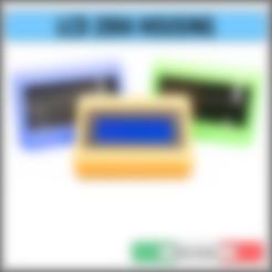 Descargar archivos STL LCD 2004 CAJA PORTA-CASOS CARCASA, alphacane