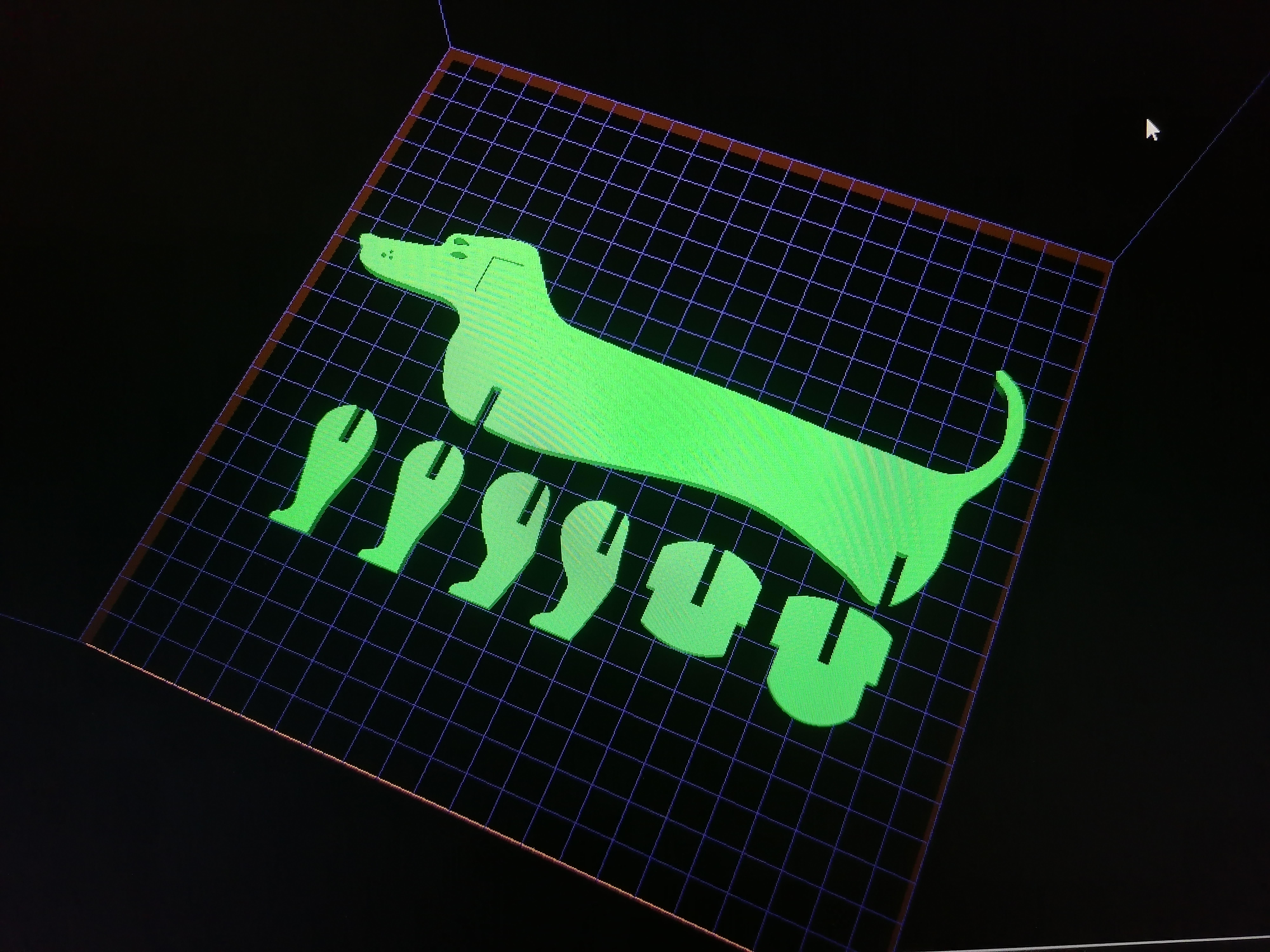 IMG_20191102_105929.jpg Télécharger fichier STL Chien / Saucisse Chien #ESUN3D • Modèle imprimable en 3D, dmanzano