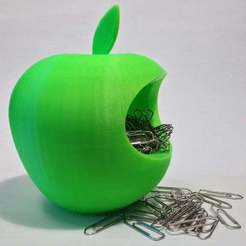 Download free 3D printer designs Apple logo - jellybean container ? :), Baldshall