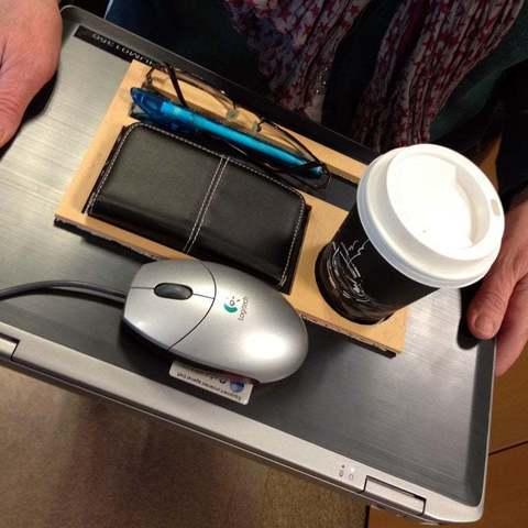 Download free 3D printing files Laptop tray, Baldshall