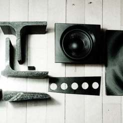 Download free 3D print files Bass scoop Reggae Hi Fi, Baldshall