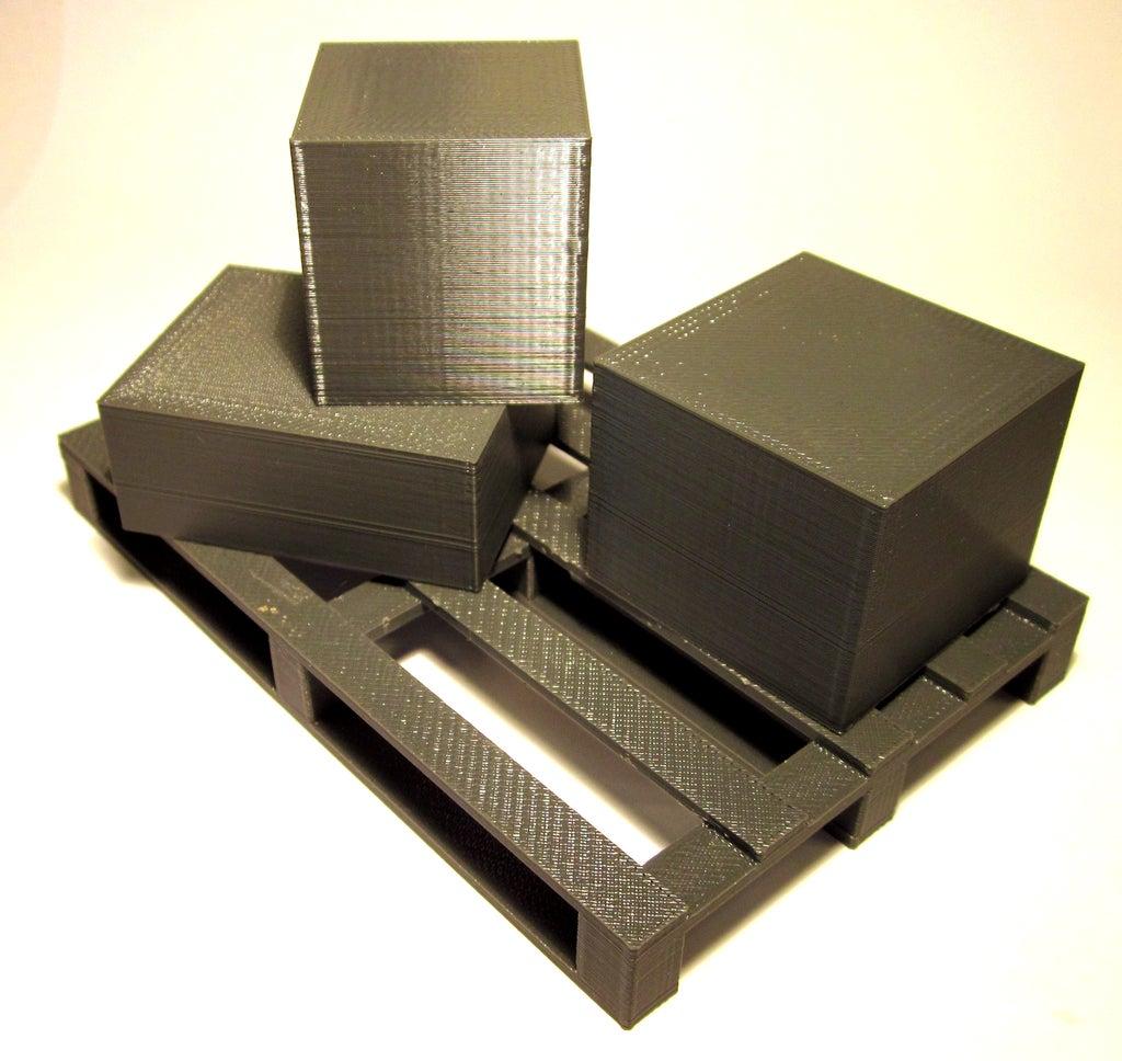 pallet_game_display_large.jpg Télécharger fichier STL gratuit Supply Chain : Jeu de palette • Design imprimable en 3D, Baldshall