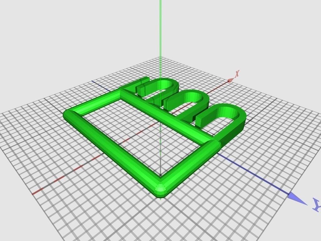 bagcarrier-v1_display_large_display_large.jpg Télécharger fichier STL gratuit Porte-sacs (paramétrique) • Plan pour imprimante 3D, Baldshall