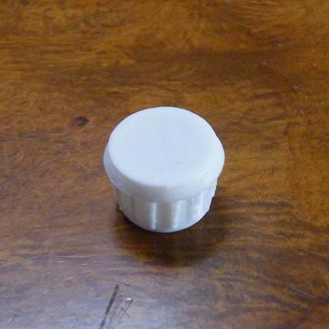 DSCF1886.JPG_display_large.jpg Télécharger fichier STL gratuit Bouchon de tube d'échelle de tableau arrière ou pieds de chaise • Modèle pour imprimante 3D, Baldshall