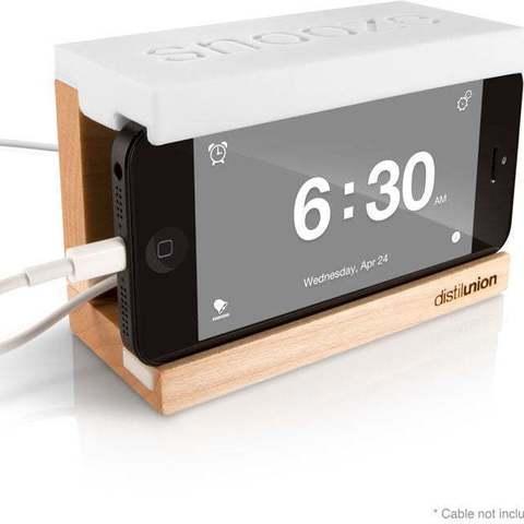 Télécharger fichier imprimante 3D gratuit Station d'accueil d'alarme pour iPhone, Ilourray