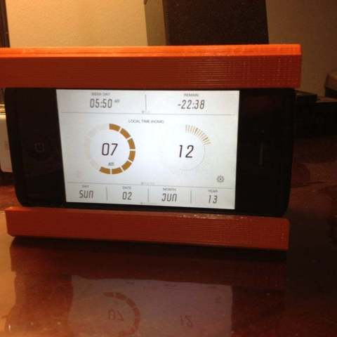 Photo_2-06-13_7_12_09_AM_display_large.jpg Download free STL file iPhone Alarm Dock • 3D printable template, Ilourray
