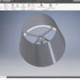 Download free 3D printer designs Simple Lampshade, Am3deo