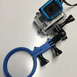 Download free 3D printer templates A couple of GoPro mounts for Kowalski Dive Torches, Aralana