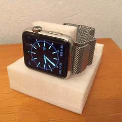 Descargar modelos 3D gratis Apple Watch Charging Dock imprimible en una impresora M3D, Aralana