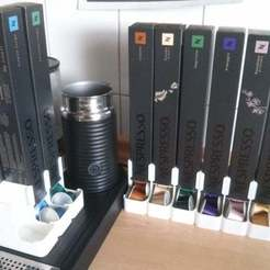Download free 3D printer files Nespresso capsule dispenser, Aralana