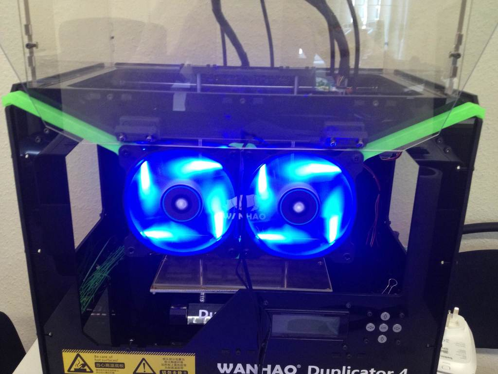 IMG_3450_display_large.jpg Download free STL file Wanhao Duplicator 4x - Additonal cooling • Design to 3D print, Aralana
