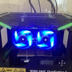 Download free 3D printer designs Wanhao Duplicator 4x - Additonal cooling, Aralana