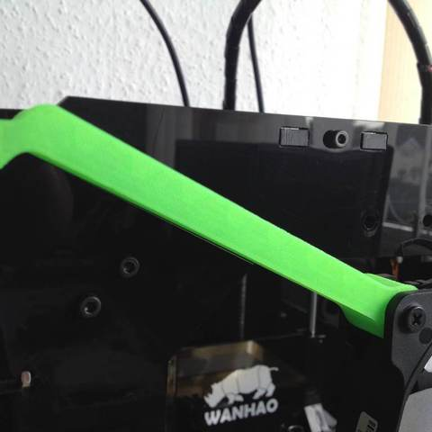 IMG_3628_display_large.jpg Download free STL file Wanhao Duplicator 4x - Additonal cooling • Design to 3D print, Aralana