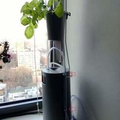 Download free 3D printer templates Windowfarms Air-line tubing clip, Aralana