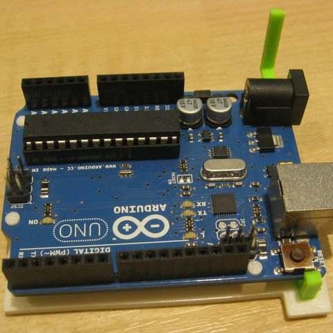 Download free 3D printing files Arduino Clip, Aralana
