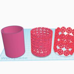 Download STL files Plastic Icing Cake Pattern Side Roller, Isepic