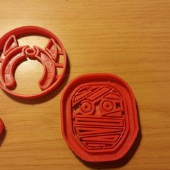 Download 3D printing models Cookie Cutters - Halloween, Isepic